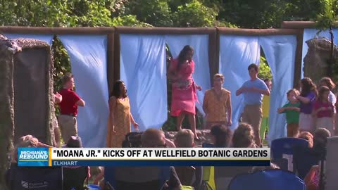 """Moana Jr."" kicks off at Wellfield Botanic Gardens"